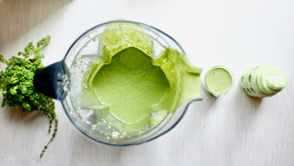 green smoothie for little-ones