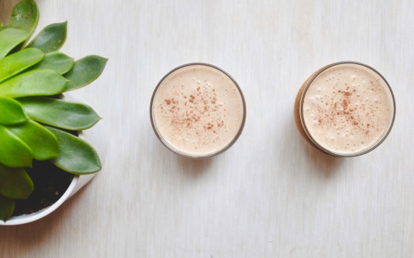Warm Oatmeal Chai Smoothie